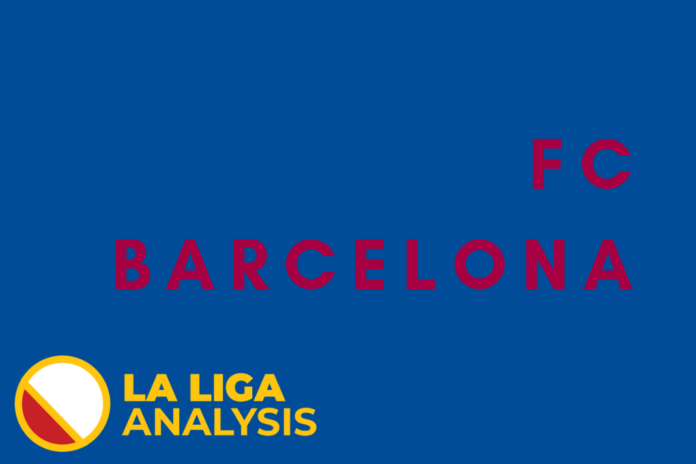 Barcelona Tactical Analysis Statistics