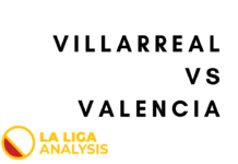 Villarreal Valencia La Liga Tactical Analysis Statistics