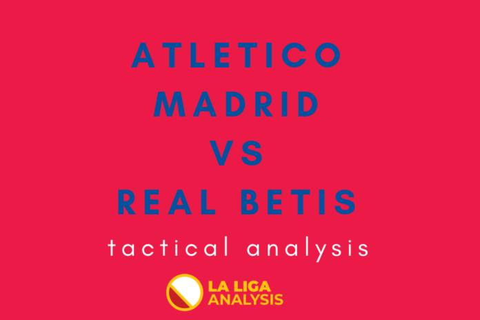 La Liga 2018/19: Atletico Madrid vs Real Betis Tactical Analysis Statistics