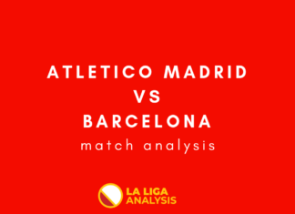 Atletico Madrid Barcelona La Liga Match Analysis Statistics