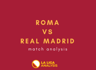 UEFA Champions League 2018/19: Roma vs Real Madrid Tactical Analysis Statistics