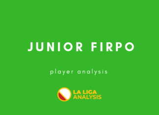 Junior Firpo Real Betis Tactical Analysis Statistics