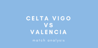 La Liga Celta Vigo Valencia Tactical Analysis Statistics