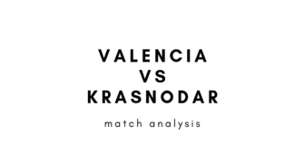 UEFA Europa League 2018/19 Valencia Krasnodar Tactical Analysis Statistics