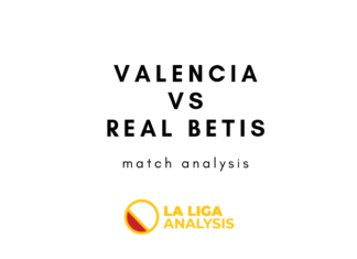 Copa del Rey 2018/19 Valencia Real Betis Tactical Analysis Statistics