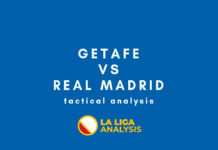 La Liga 2018/19 Tactical Analysis Statistics: Getafe vs Real Madrid