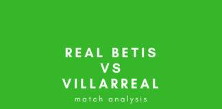 real betis villarreal la liga tactical analysis analysis