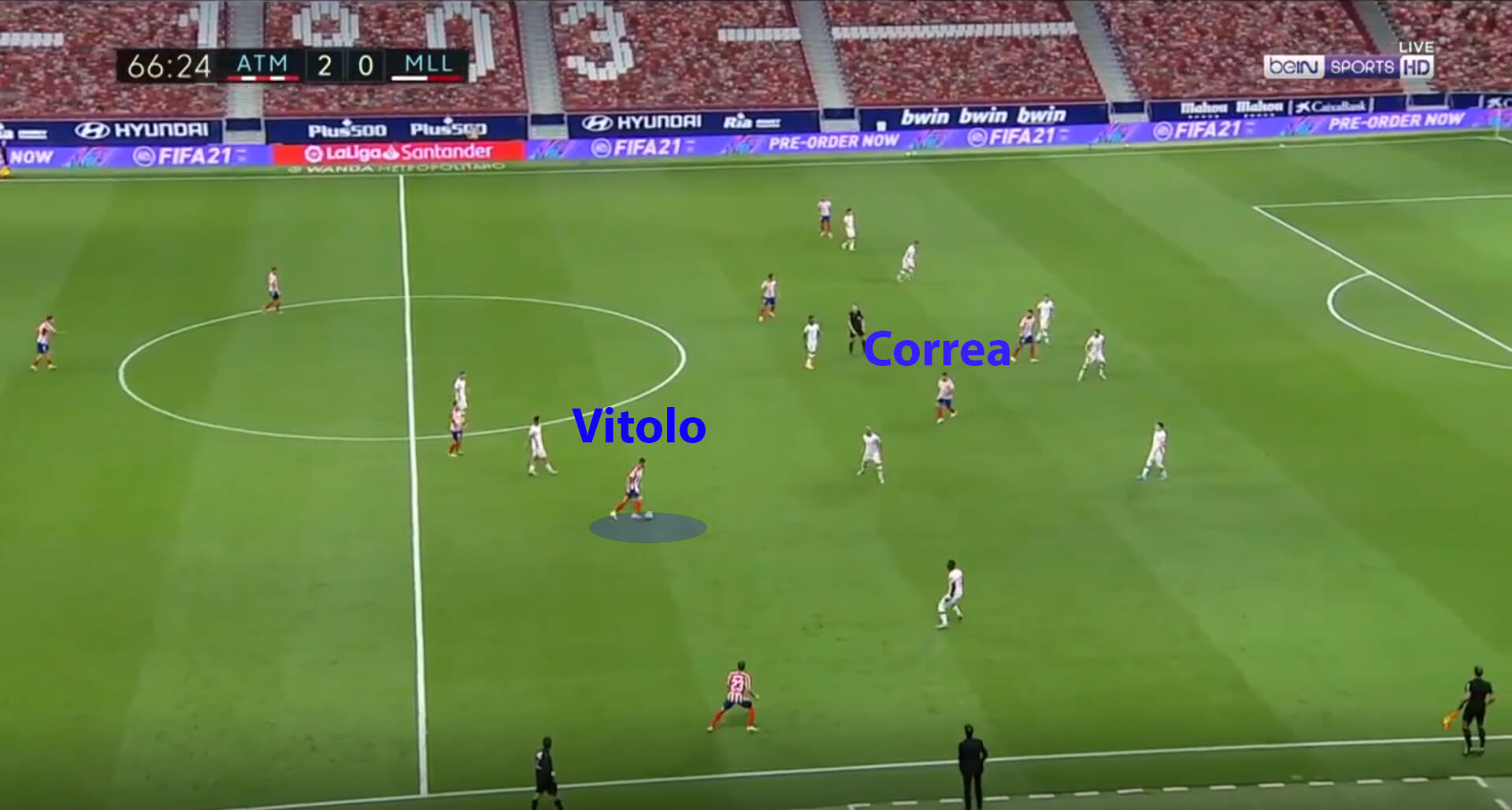 La Liga 2019 20 - Atletico Madrid vs Real Mallorca - tactical analysis tactics