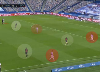 La Liga 2019/20: Real Sociedad vs Sevilla - tactical analysis tactics