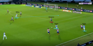 La Liga 2019/20: Celta Vigo vs Atletico Madrid - tactical analysis tactics